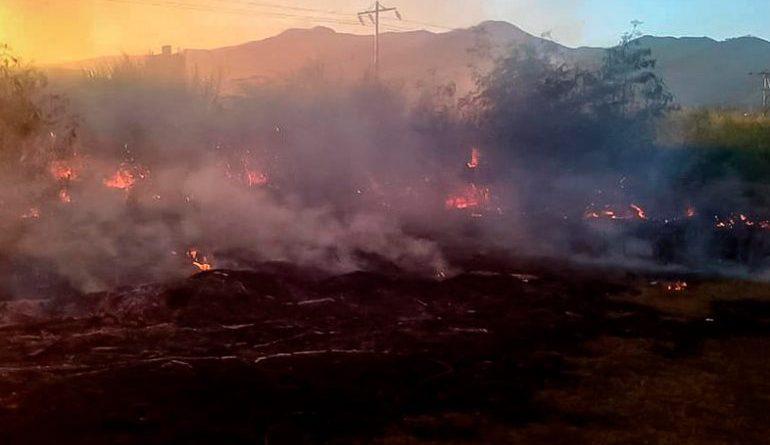 Incendio en un cañaveral en Aragua, dejó al menos 11 personas muertas