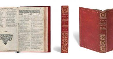 «Primer Folio» de Shakespeare se subasta a partir de 4 millones