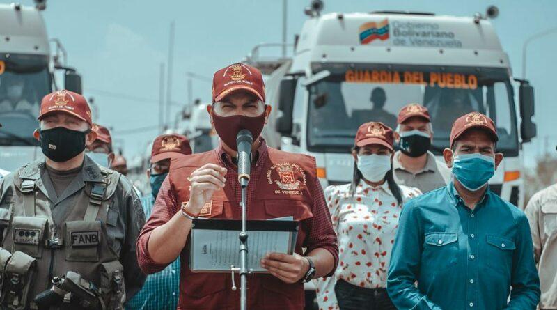 *Gobernador Omar Prieto entregó 18 «Súper Cisternas» para la fortalecer la distribución de agua potable en el estado Zulia*