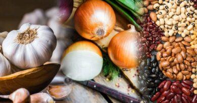 Cebolla, ajo y legumbres: antigripales naturales