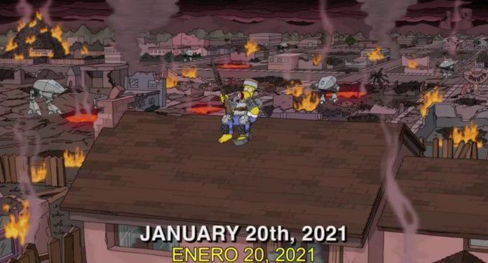Las estremecedoras predicciones de Los Simpson para 2021